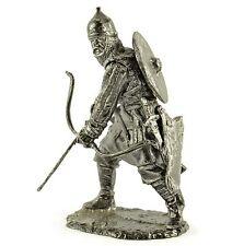 Russian Archer. XIV cent. Tin toy soldier 54mm miniature statue. metal sculpture