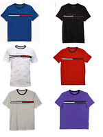 Tommy Hilfiger Men's T Shirt Short-Sleeve Tino Tee Shirt Color Block S M L XL