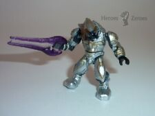 Halo Mega Bloks Set #97123 Covenant Silver Elite Zealot with Energy Sword