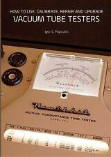 Vacuum Tube Testers for Triplett Mercury AVO Hickok Eico Heathkit Jackson B&K