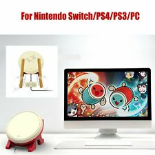 4 IN 1 Taiko No Tatsujin Drum And Stick Set For Nintendo Switch/PS4/PS3/PC