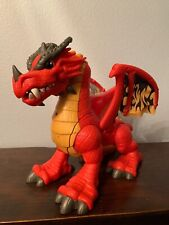 Fisherprice Large Red Interactive Dragon Toy