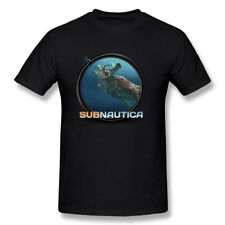 men's t shirts Subnautica Icon Art Printed Graphic Tops