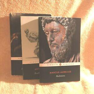 *  THREE BOOKS!!   The Mayor of Casterbridge  /  Death of a Salesman  /  Medit