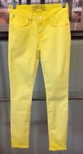 New Women Authentic USA Robin's Jean Yellow Casual Skinny Pants Size 26
