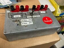 Audio Dummy Load Test Equipment for Vacuum Tube and Ss amplifier testing.