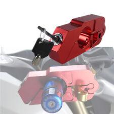 CNC ATV Handle Grip Security Safety Locks Motorcycle Brake Clutch Levers Locks