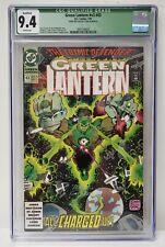 Green Lantern Issue# 43 DC Comics 1993 CGC Qualified Graded 9.4 Comic Book
