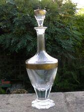STUNNING ART DECO PERIOD BOHEMIAN MOSER GLASS DECANTER KARAFFE