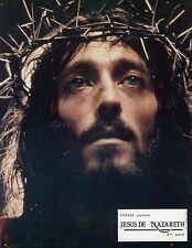 ROBERT POWELL ANNE BANCROFT JESUS OF NAZARETH 1977 8 VINTAGE LOBBY CARDS LOT #2