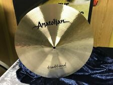 "Anatolian Traditional 18"" Medium Crash from Istanbul-Turkey-NEW-NEW!"