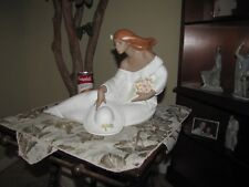 """Large Lladro Gres Midday #2405 15"""" long 10 1/4 high - Awesome"""