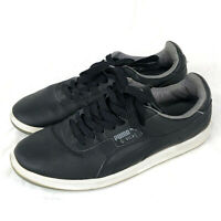 Puma Mens G Vilas L2 352758-27 Sneakers Black Tennis Shoes Size 8.5
