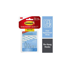 Command Clear Assorted Refill Strips 17200CLR-ES