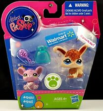 Littlest Pet Shop Sparkle Rabbit 2481 Mouse 2480 Walmart 2011 More LPS Avail