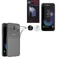 Coque Gel UltraSlim et Ajustement parfait pour Seri Samsung + Film Verre Trempe