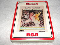 "David Cassidy ""The Higher They Climb,Harder...""  8-Track Tape,SEALED/ MINT!,1975"