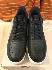 Nike Air Force 1 '07 men's trainers brand new in box uk size11 obsidian / white