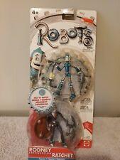 Robots The Movie Rodney Copperbottom & Ratchet Mattel 2004 Mix N' Match Figure