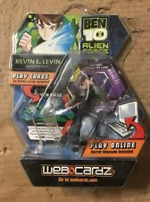 Ben 10 Alien Force Kevin E. Levin Action Figure With Online Codes From WebCardz