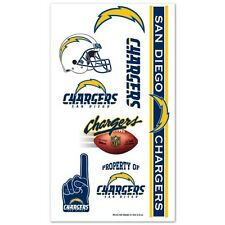 San Diego Chargers Temporary Tattoos