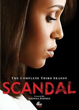 Scandal . The Complete Season 3 . From The Creator Of Grey's Anatomy . 5 DVD NEU