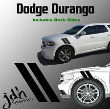 Dodge Durango Hash Mark Stripes Fender Hood Vinyl Decal Sticker Graphic Car Kit
