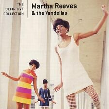 MARTHA REEVES & THE VANDELLAS THE DEFINITIVE CD VERY BEST OF / GREATEST HITS NEW