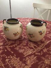 Vallauris J.Massier paire De Vases