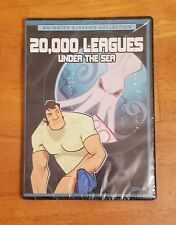 20,000 Leagues Under the Sea DVD Animated Childrens Classic Jules Verne Sub Nemo