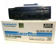 More details for pioneer cld-d925 pal/ntsc dual side play laserdisc ac3rf - mint boxed