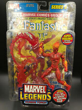 "Marvel Legends HUMAN TORCH Fantastic Four 6"" Action Figure ToyBiz Series 2"