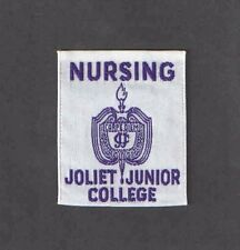 Vintage Illinois Joliet Junior College Nursing Patch