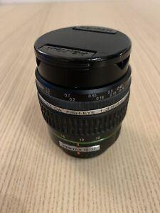 Pentax 10-17mm Fish Eye Lens