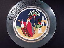 "Wilton Aremetale Pewter 1993 The Departure The Journey Christmas Magi 9"" Mib"
