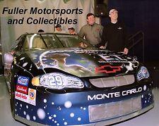 RARE KEVIN HARVICK E.T. EXTRA TERRESTRIAL #29 2002 NASCAR WINSTON CUP 8X10 PHOTO