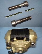 Stainless rear caliper joint bolts Suzuki GSXR600 GSXR750 GSXR1000 Hayabusa GSXR