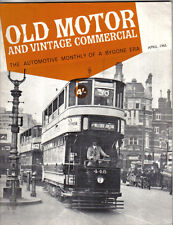 Old Motor + Vintage Commercial Apr 65 Vol 3 No 10 Foden Fowler Clyno 'Babs' +