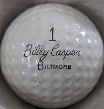 (1) Billy Caspter Biltmore Solid State Signature Logo Golf Ball (Cir 1964) #1