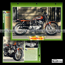 #047.05 Fiche Moto HARLEY-DAVIDSON XR 1000 1983-84 Motorcycle Card