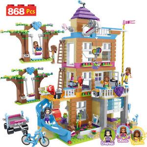 Building Blocks Girls Friendship House Model Stacking Bricks Friends Gifts UK .-