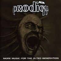 THE PRODIGY - MORE MUSIC FOR THE JILTED GENERATION (RE-ISSUE) 2 CD NEW