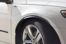 VW Polo tuning felgen x2 Radlauf Verbreiterung CARBON look Kotflügel Leisten set