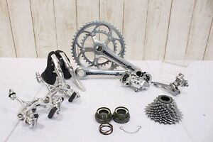 Campagnolo Athena 2x11s groupset 170mm compact rare silver power torque