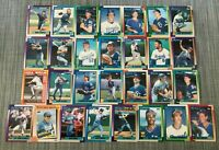 1990 KANSAS CITY ROYALS Topps COMPLETE Baseball Team SET 29 Cards  BRETT JACKSON