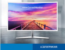 "New Samsung LC32F397FW LED 1800R Curved  1920x1080 VA HDMI DP 32"" Gaming Monitor"