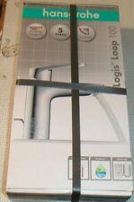 Hansgrohe Logis® Loop 100 Waschtischmischer m. Ablaufgarnitur