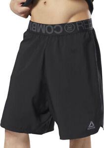 Reebok Combat Mens Boxing Shorts - Black