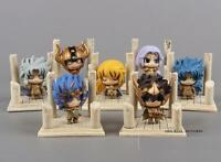 Set 7 figuras Caballeros del zodiaco 5-6 cm-set 7 figures  Saint Seiya with box