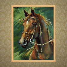 DIY 5D Horse Diamond Embroidery Painting Cross Stitch Craft Home Wall Decor Gift